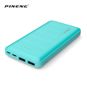 Portable External Battery Charger 10000mAh emergency fashion slim mini powerbank