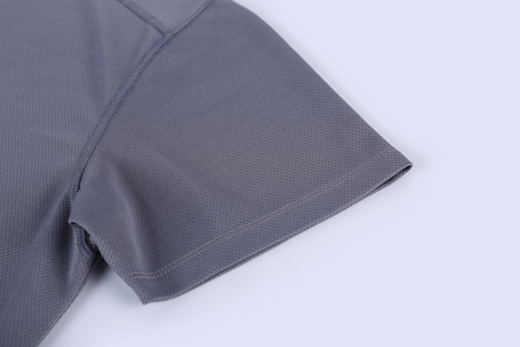 New Style Solid Gray 100% Polyester O-Neck Oversized Summer Plain No Brand T-Shirt For Men