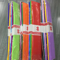 Colorful crepe paper wrapping paper for Pakistan market