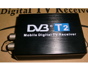 2018 hot streaming H.264/MPEG2/MPEG4 /120KM/hour car DVB-T2 TV receiver with high speed mobile receiving ability