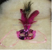 feather mask party make up Halloween gift