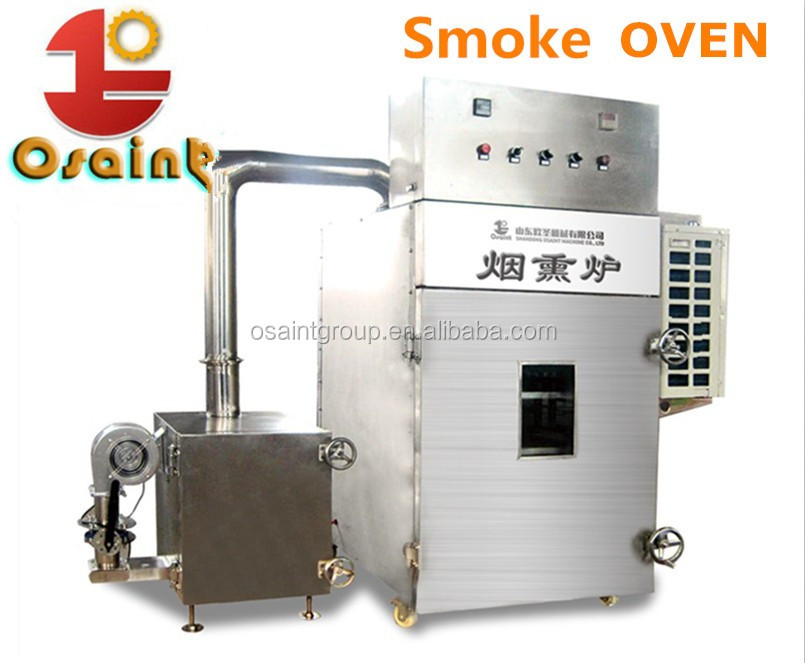 Smoking house for sausage smoking and meat smoking function