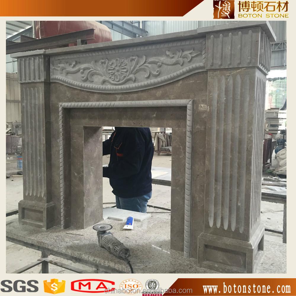 bajo precio mrmol natural chimenea pieza estantes chimenea de granito a la venta para el