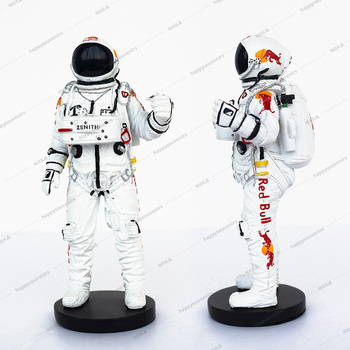 Custom resin astronaut toy figure ornament 3D astronaut miniature model decoration spaceman action figurine