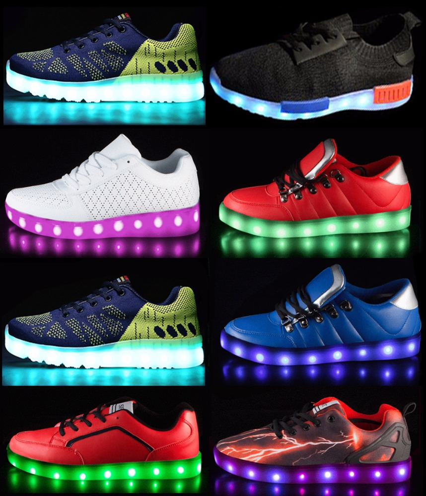 Low MOQ Fast Shipping USA hot sales baby led shoes