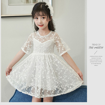 Kids wear china chiffon lace beautiful model wedding for 10 year old dresses for weddings