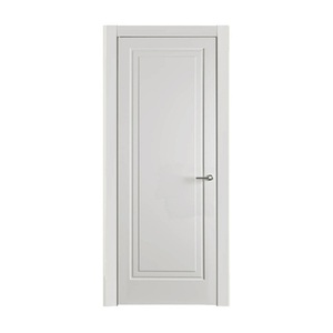 Customized proposal and size surface finished pvc bathroom toilet door design