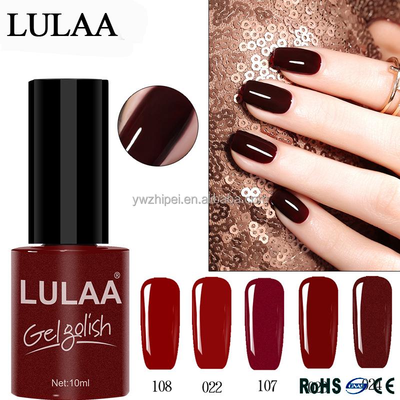 China Supplier Lulaa High Quality Uv Nail Gel Polish - Buy Nail ...