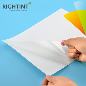 Inkjet Printable Self Adhesive pet Film a4 Transparent Adhesive Paper for Inkjet