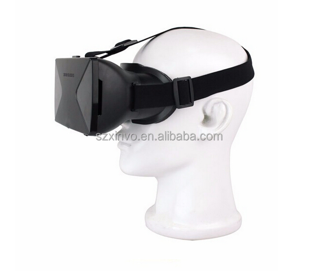 Quite Suitable Wearing Virtual Reality Headset VR Box 3D Glasses