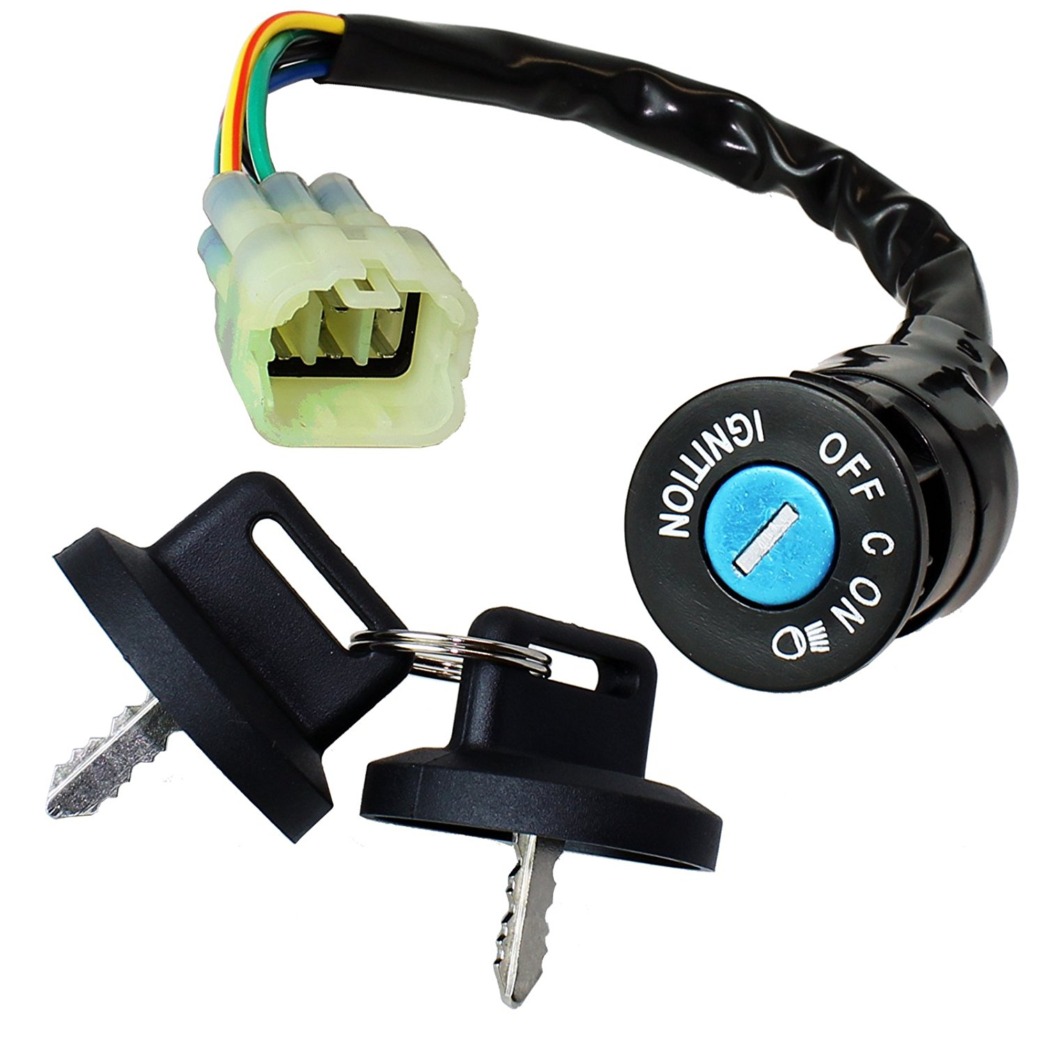 Ignition Key Switch Fits CAN AM BOMBARDIER DS 650 DS650 BAJA X 2004 CAN-AM ATV