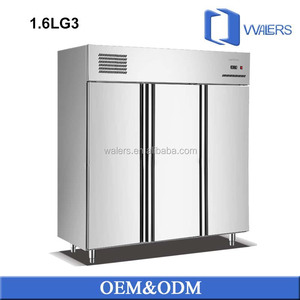3 Door Freezer/Commercial Kitchen Refrigerator/Commercial Restaurant Freezer Fridge