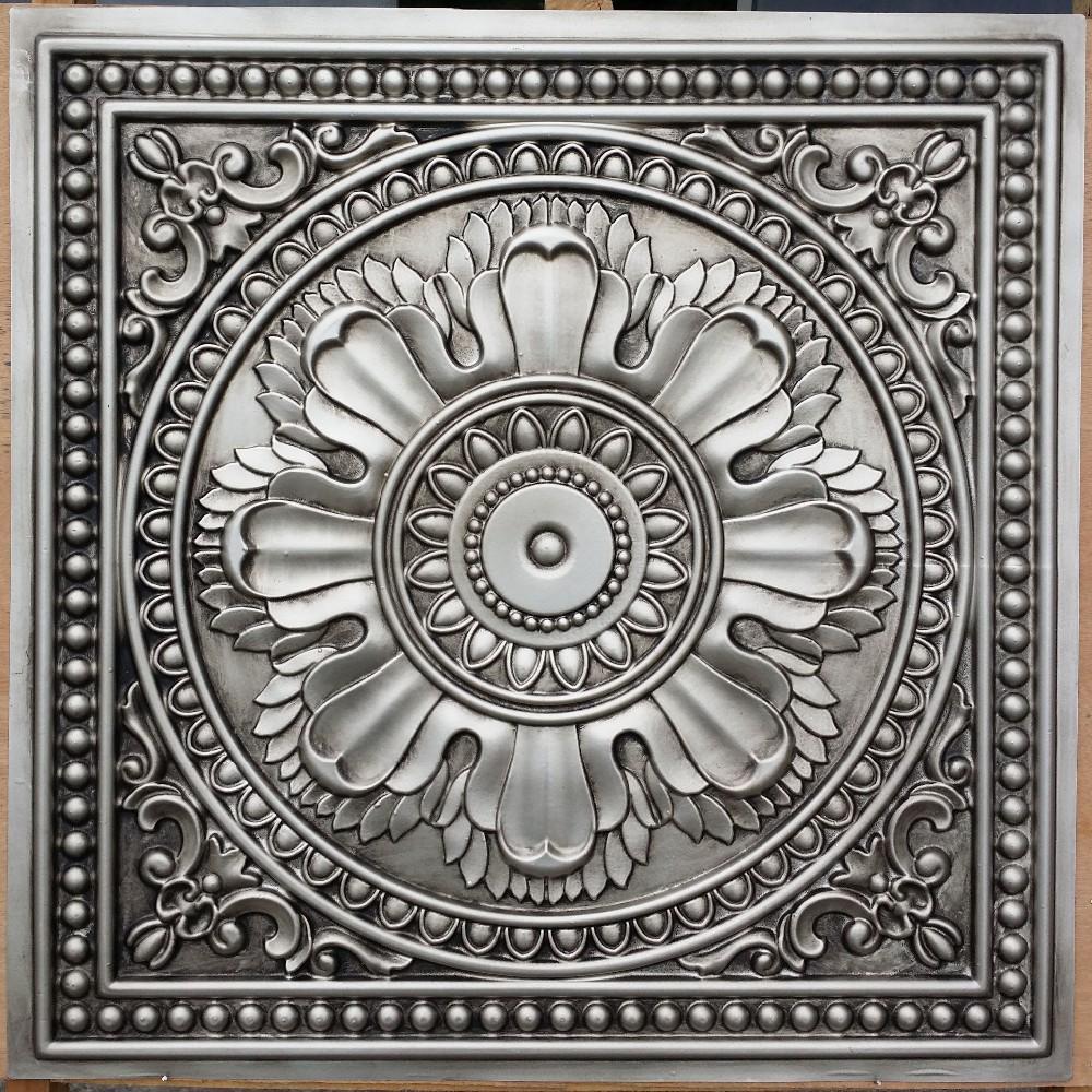 depot ceiling tiles tin silver john for decor of robinson tile home backsplash image