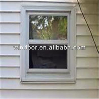 America design double glazed aluminum vertical sliding for Vertical sliding window design