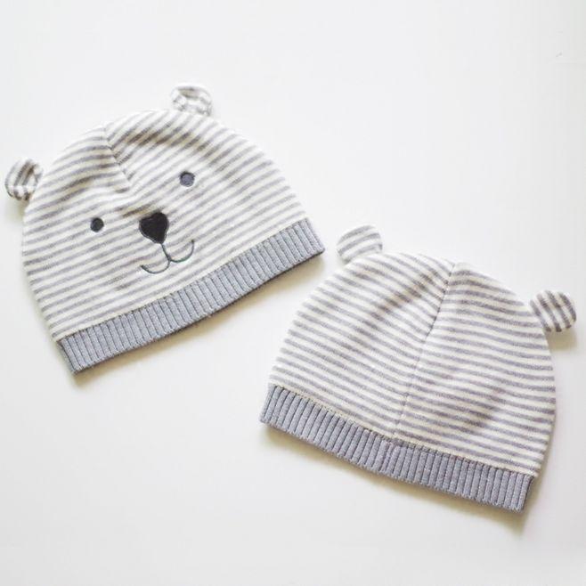 Venta al por mayor niños tejer sombrero con oreja-Compre online los ...