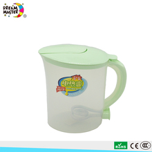 1.5L Transparent Plastic Electric Kettle With Power Cord Cheap Price Light Weight
