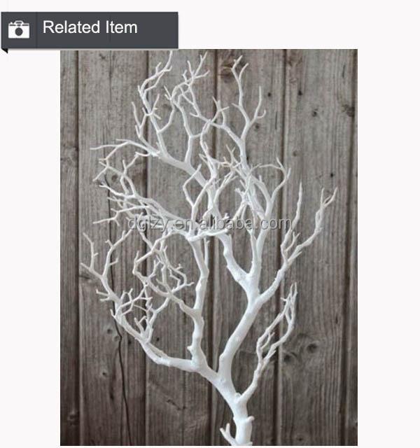 High quality white tree wedding decor artificial dry