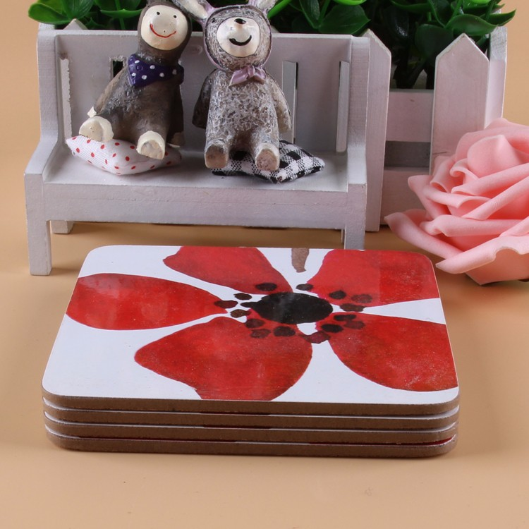 Latest Arrival different styles light and handy kids cork placemats