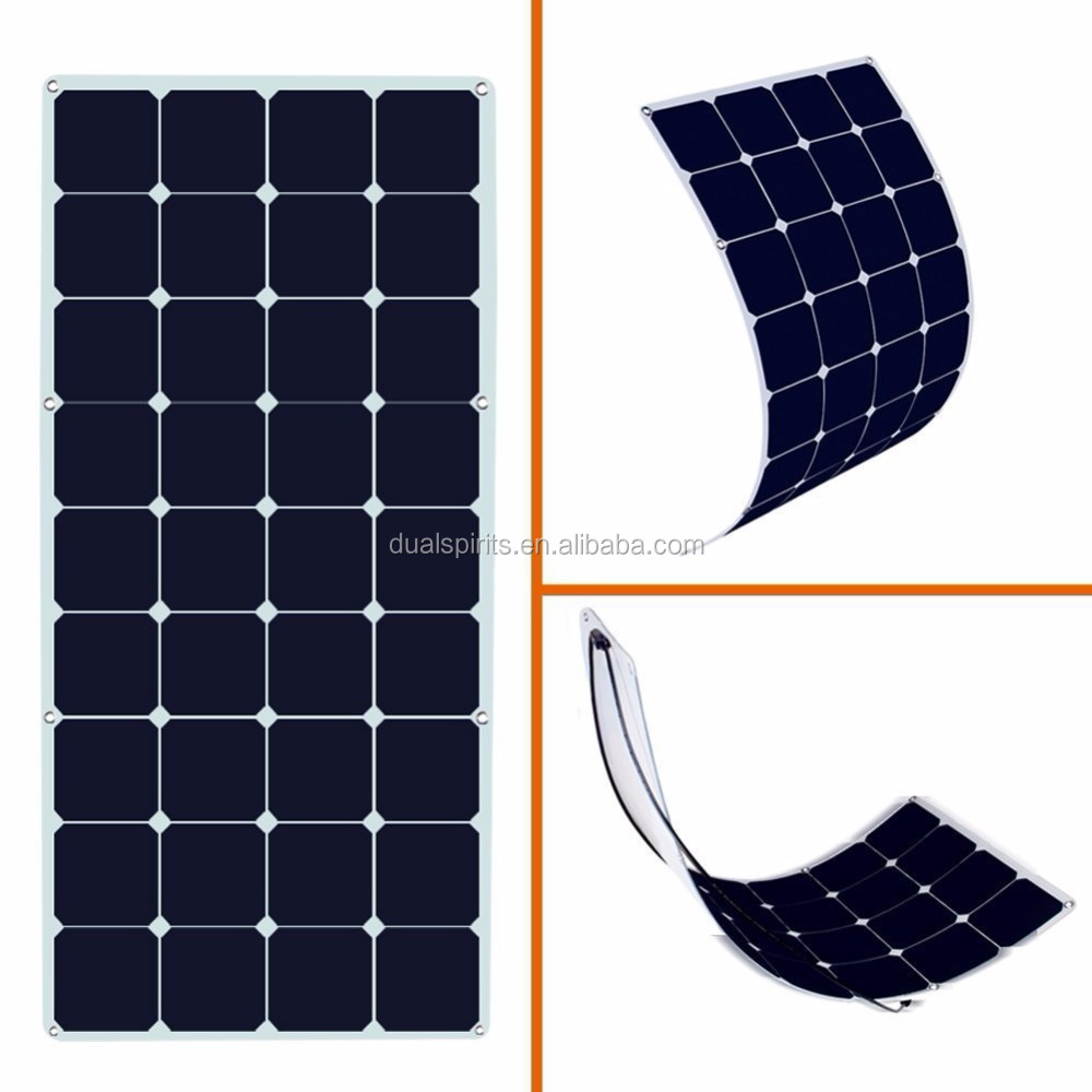 solar cells high efficiency flexible solar panel, Semi Flexible Solar Panel supplier