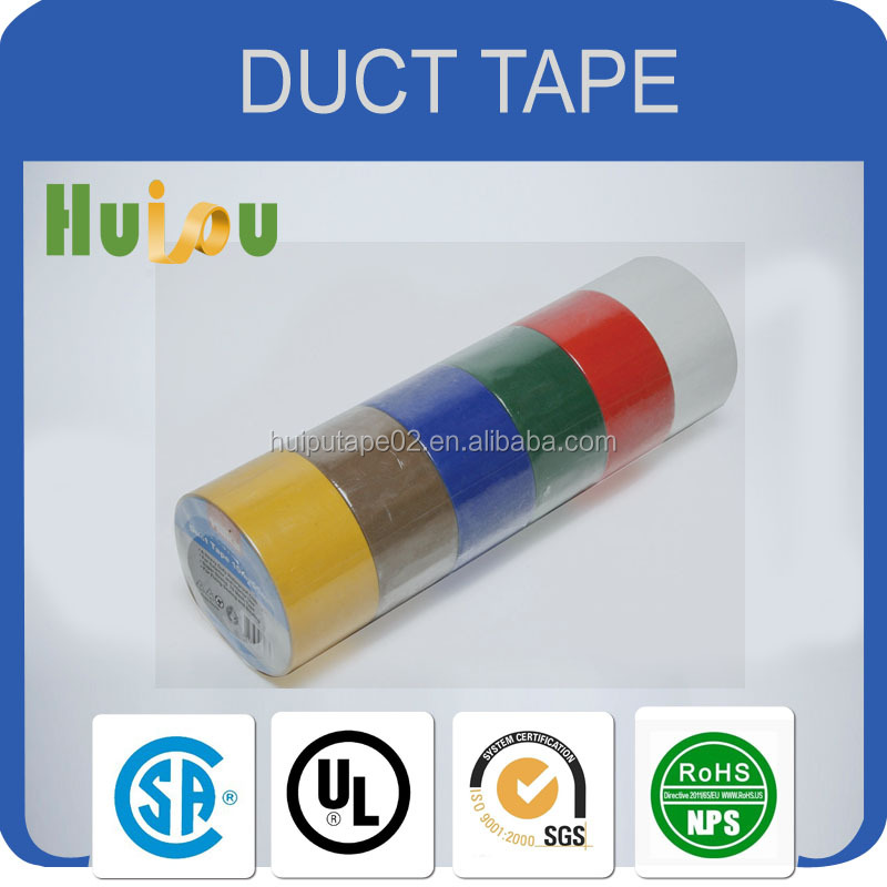 cloth tape tube wrapping&protection textile fiberHeat Resistant Aluminum Foil Duct Tape