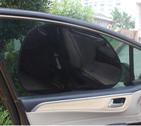 63.5*39cm pvc car side window static cling sunshade