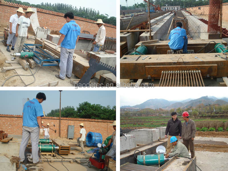 Post Tensioning Prestressed Anchor Wedge Plate For Concrete ...