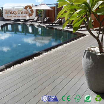 Delicieux Balcony Patio Swimming Pool Wood Plastic Composite WPC Decking