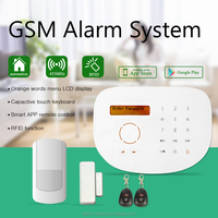New and Simple wireless GSM alarm system !Protect your property with high quality home security alarm system!