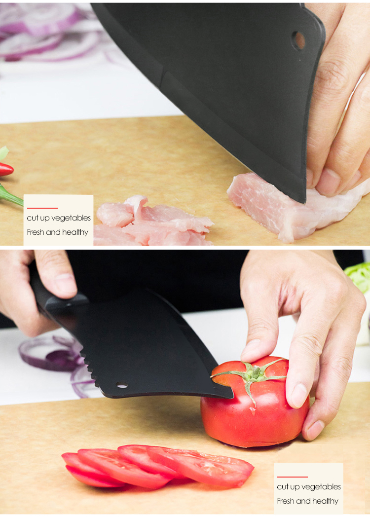 Yangjiang High Quality with Best Selling Kitchen Chopping Knife Cleaver Knife 2 in 1 Boning Knife
