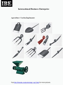 Agriculture / Garden Implements