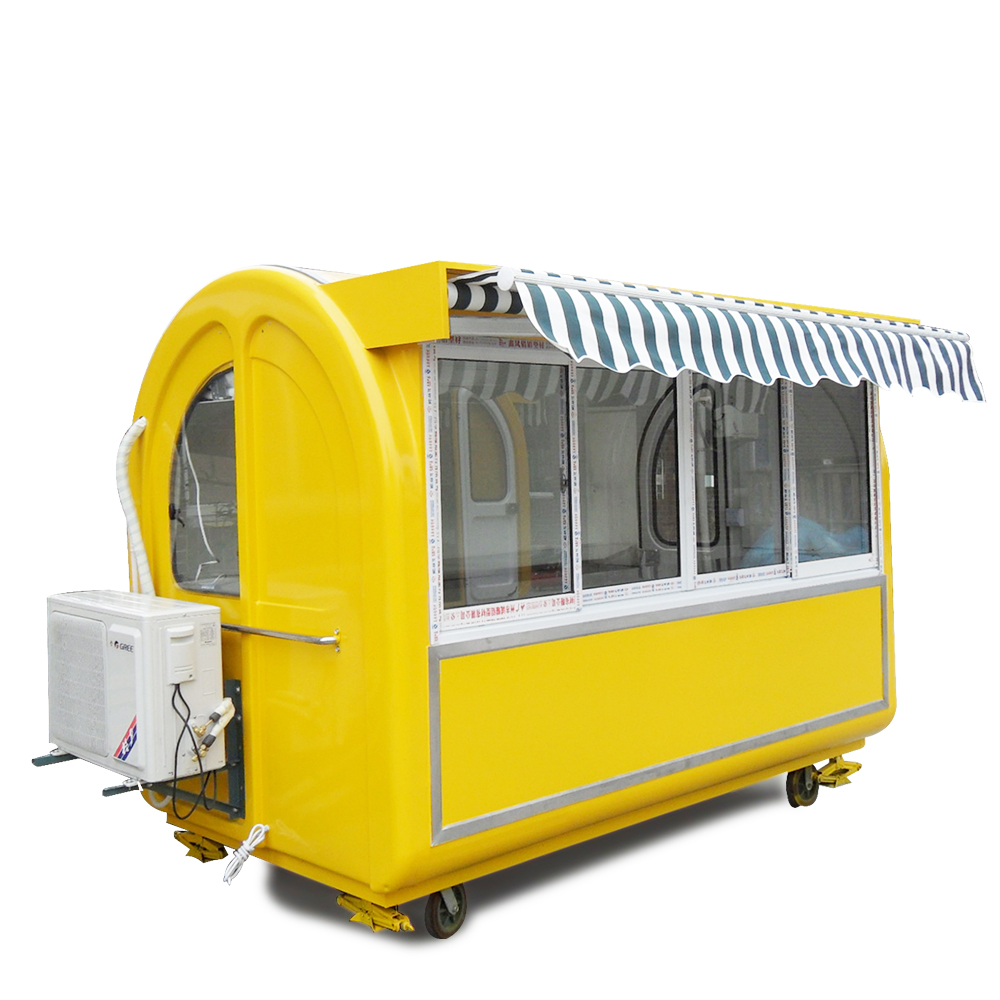 High Quality Mobile Restaurant Trailer new sale truck fast food