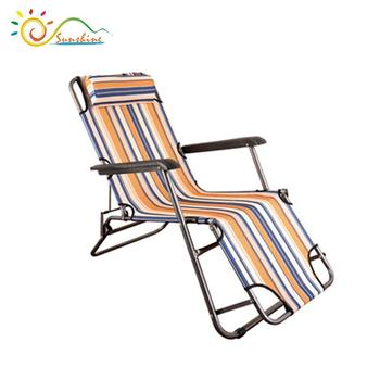 Rattan Sun Lounge Beach Sunbed Outdoor With Cushion Cheap