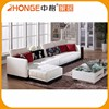 Leisure Style Reception Living Room Armless Italian Fabric Sofa Set