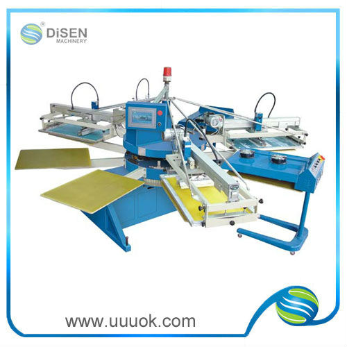 Textile automatic rotating screen printing machine