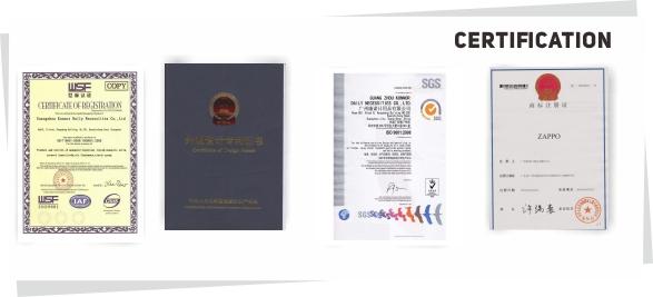 zappo certificate