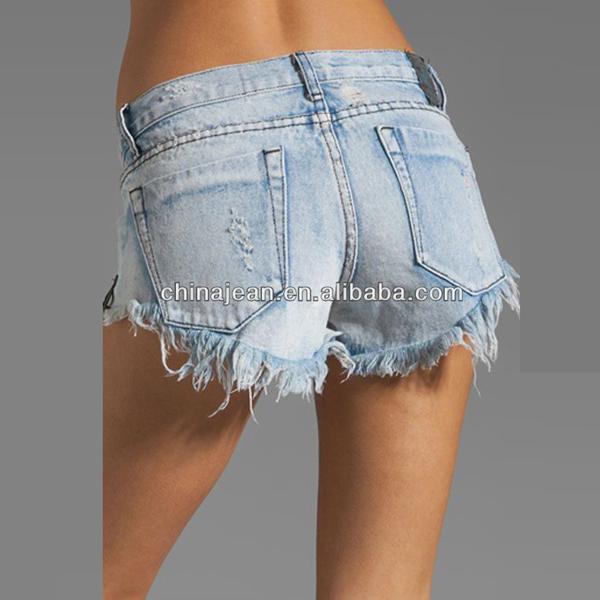 2015 Girls Jeans Women Shorts Frayed Denim Shorts Jxq200 - Buy ...