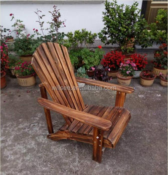 He 169 Vintage Carbonized Finishing Antique Wooden Beach Chairoutdoor Wooden Frog Adirondack Beach Chair Buy Vintage Wooden Beach Chairantique