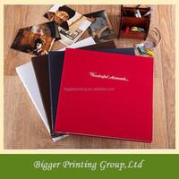 Shanghai factory 4x6 600 peel & stick photo album,pvc sheet for photo album