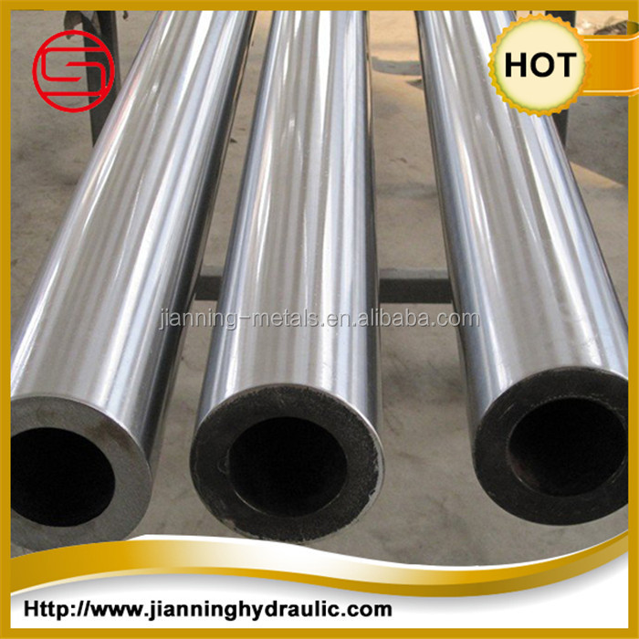 China Manufacture inside diameter required precision seamless steel tube for hydraulic and pneumatic cylinder use