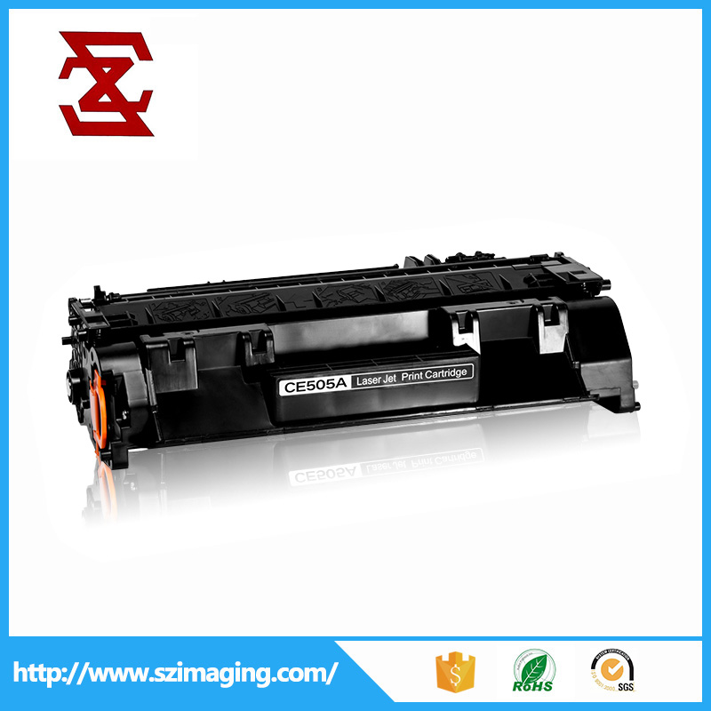 Black toner cartridge for HP LaserJet P2035 toner cartridge 05A compatible hp CE505A