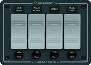 Blue Sea Systems 8262 Waterproof Panel 4 Position by Blue Sea Systems