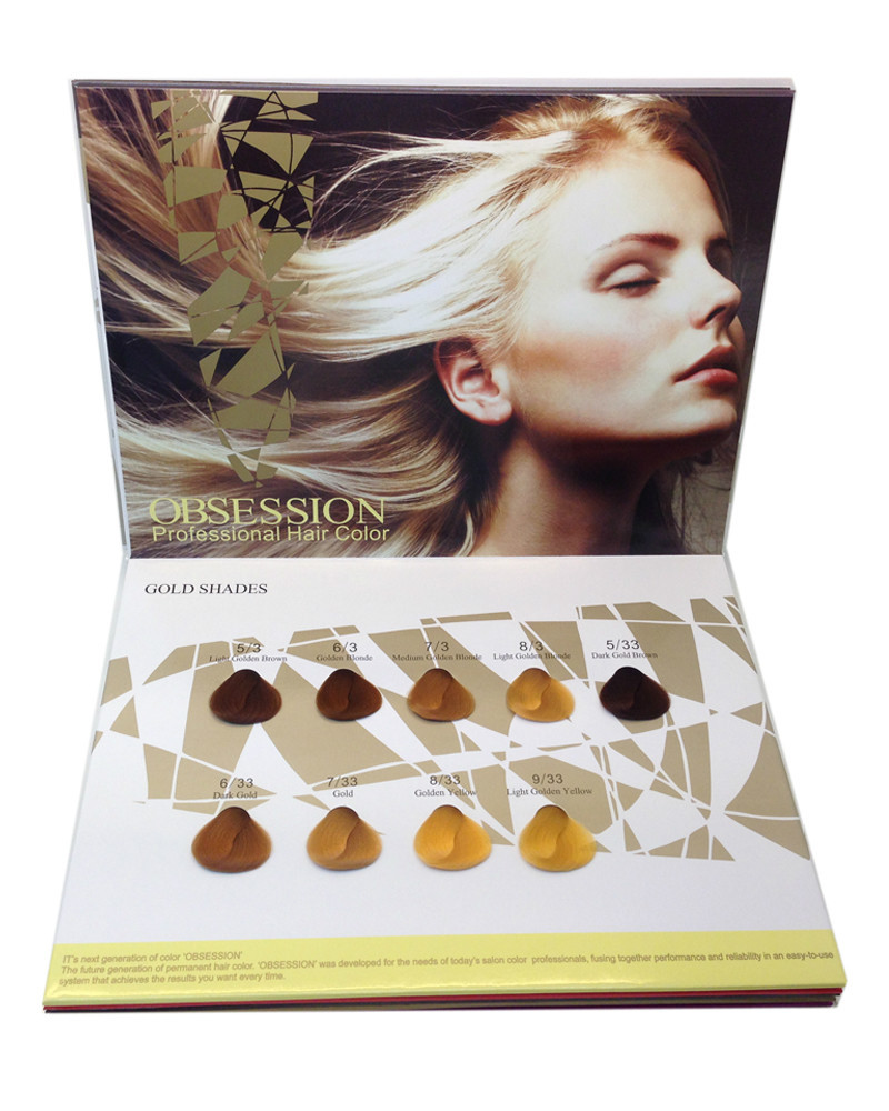 professional hair color swatch professional hair color swatch suppliers and manufacturers at alibabacom - Matrix So Color Swatch Book