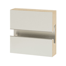 <span class=keywords><strong>Mdf</strong></span> Slat Display del Pannello di alluminio slatwall Display