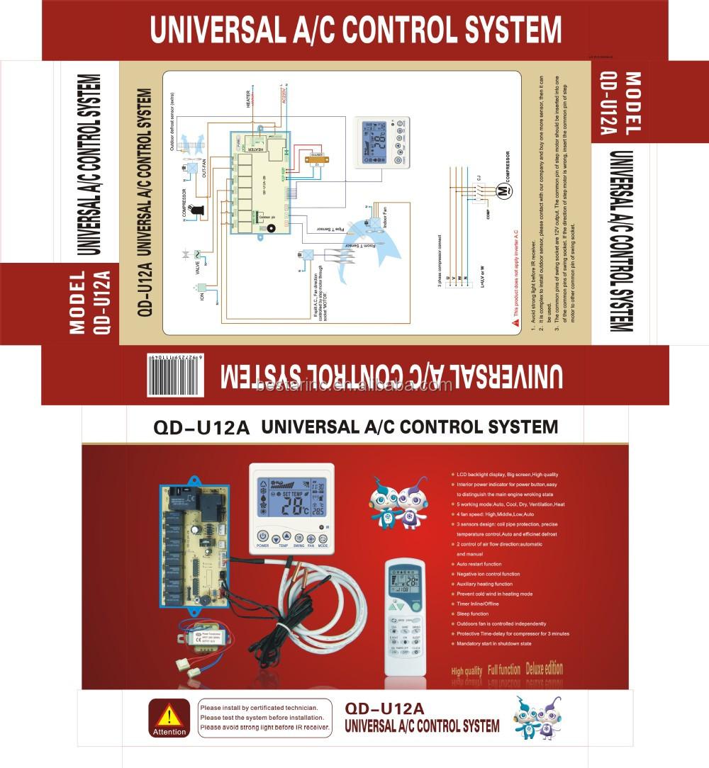 A/c Control System Model Number Qd-u10a
