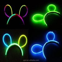 Colorful Glow Stick Bunny Ear for Party