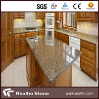 timely delivery polished grey granite countertop and table top