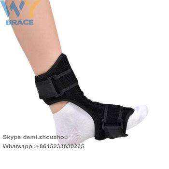 93ad1287cf Comfortable Plantar Fasciitis Dorsal Night and Day Splint for Heel Pain  Relief Drop Foot