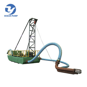 Made in China mini river dredging sand dredge machine for sale