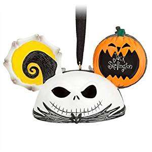 Jack Skellington and Zero Ear Hat Ornament by Disney
