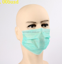 3 Ply Disposable Face Mask With Eye Shield